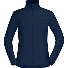 Norrøna Falketind Warm1 Chaqueta Stretch Mujer, indigo night